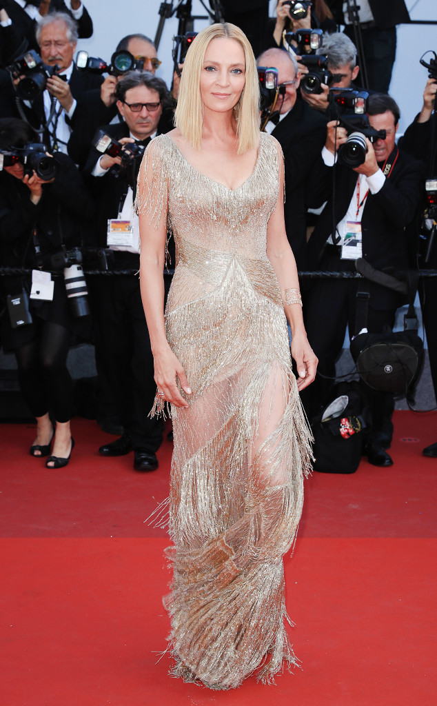 ESC: Cannes Best Dresses, Uma Thurman