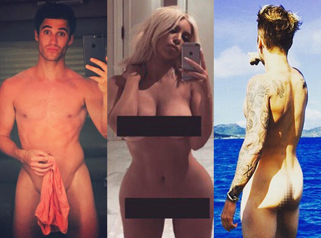 naked caught famous girls