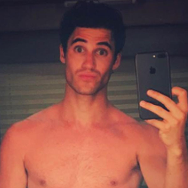 Darren Criss, Naked Selfie