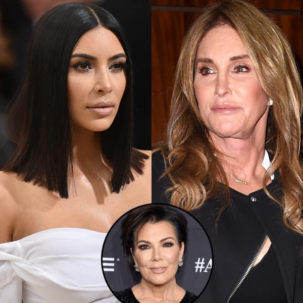 Kim Kardashian, Kris Jenner, Caitlyn Jenner