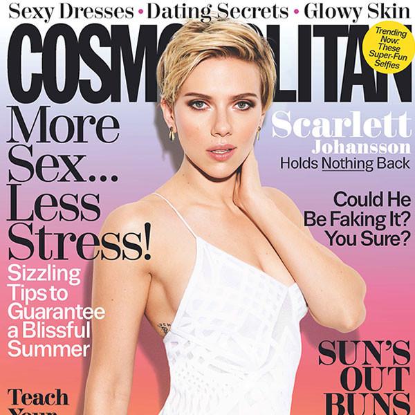 Scarlett Johansson, Cosmopolitan, July 2017