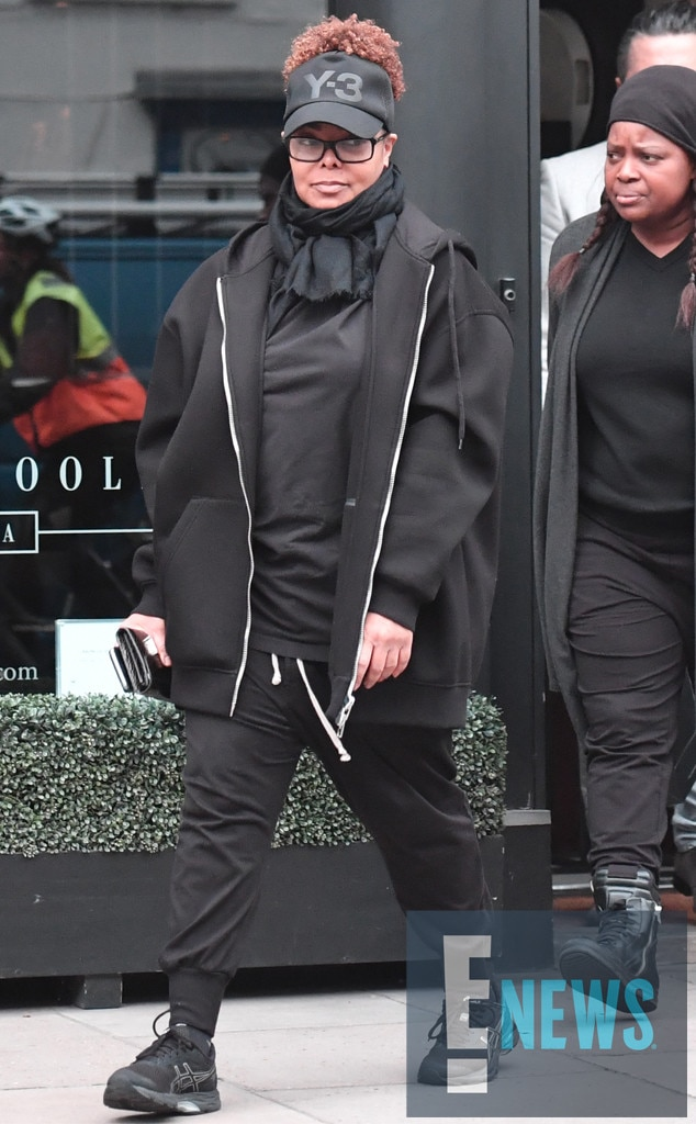 Janet Jackson Goes On A Shopping Spree After Confirming