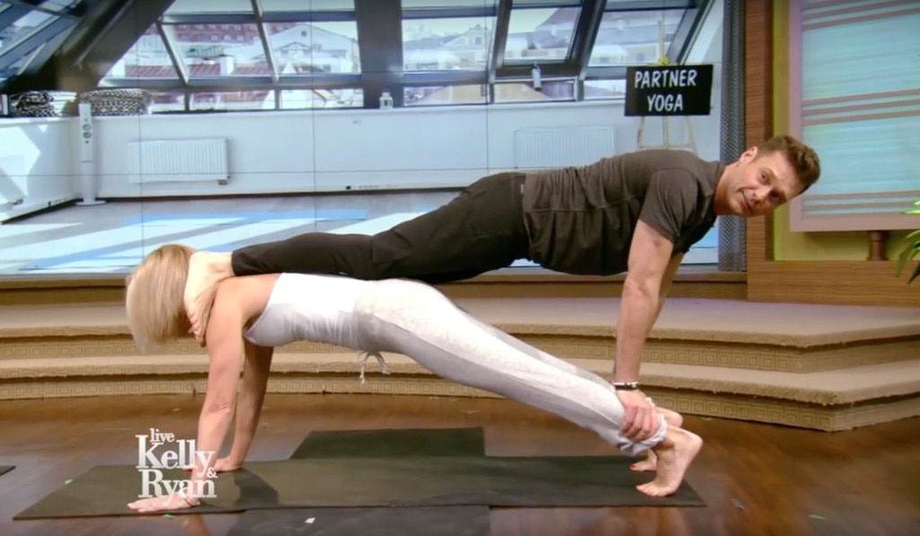 Ryan Seacrest, Kelly Ripa, Live with Kelly and Ryan