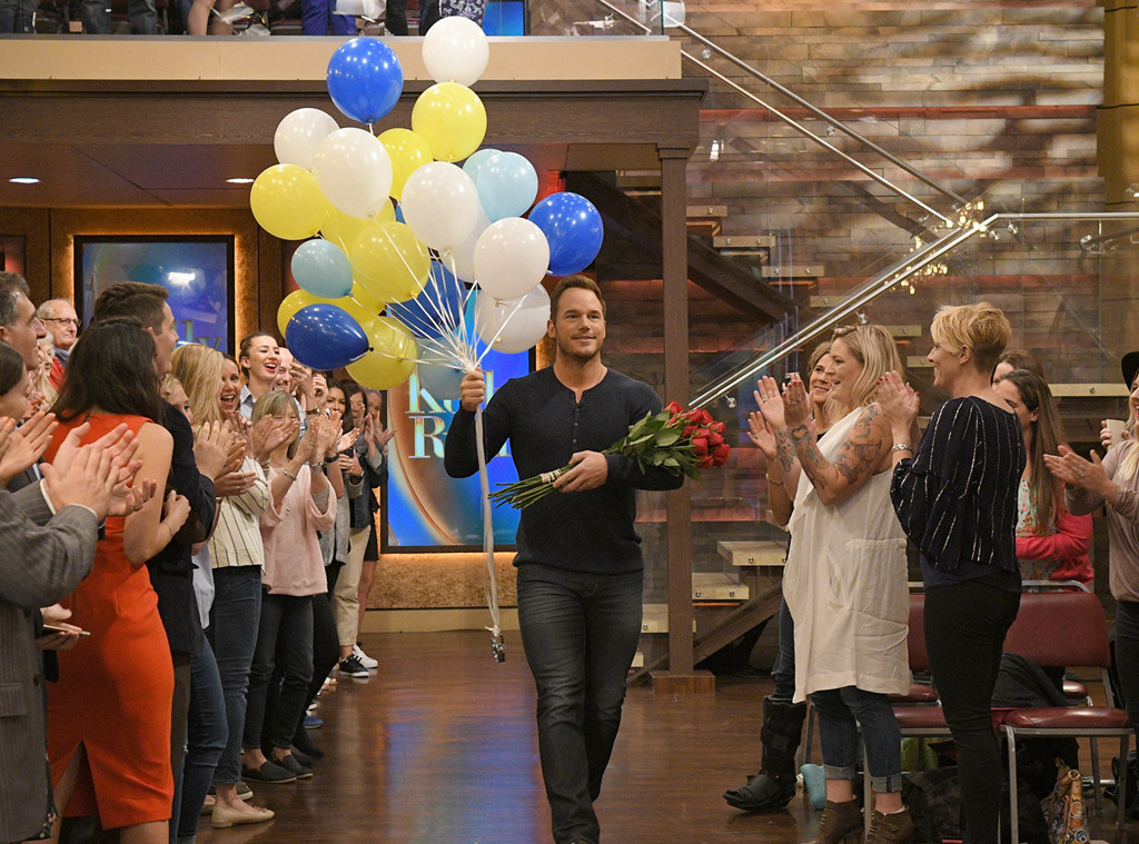 Chris Pratt, Live with Kelly and Ryan