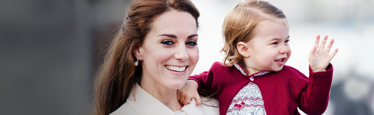 ESC: Kate Middleton, Princess Charlotte