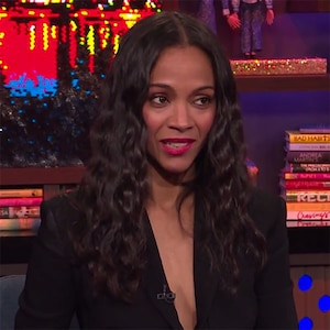 Zoe Saldana, Watch What Happens Live