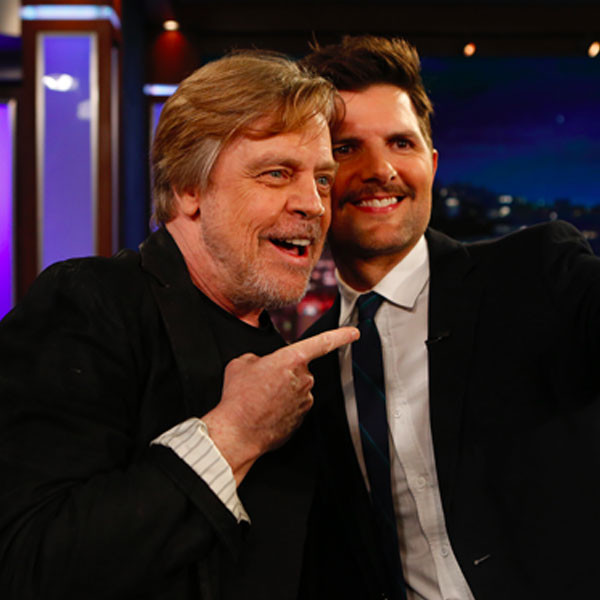 Adam Scott, Mark Hamill, Jimmy Kimmel Live
