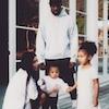 ESC: Kim Kardashian, Kanye West, North West, Saint West, Easter