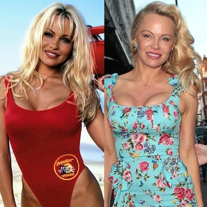 Pamela Anderson, Baywatch Then and Now