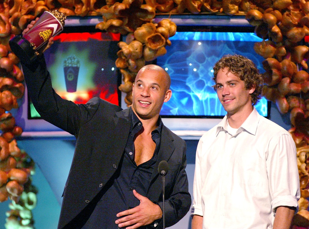 Vin Diesel, Paul Walker, 2002 MTV Movie Awards