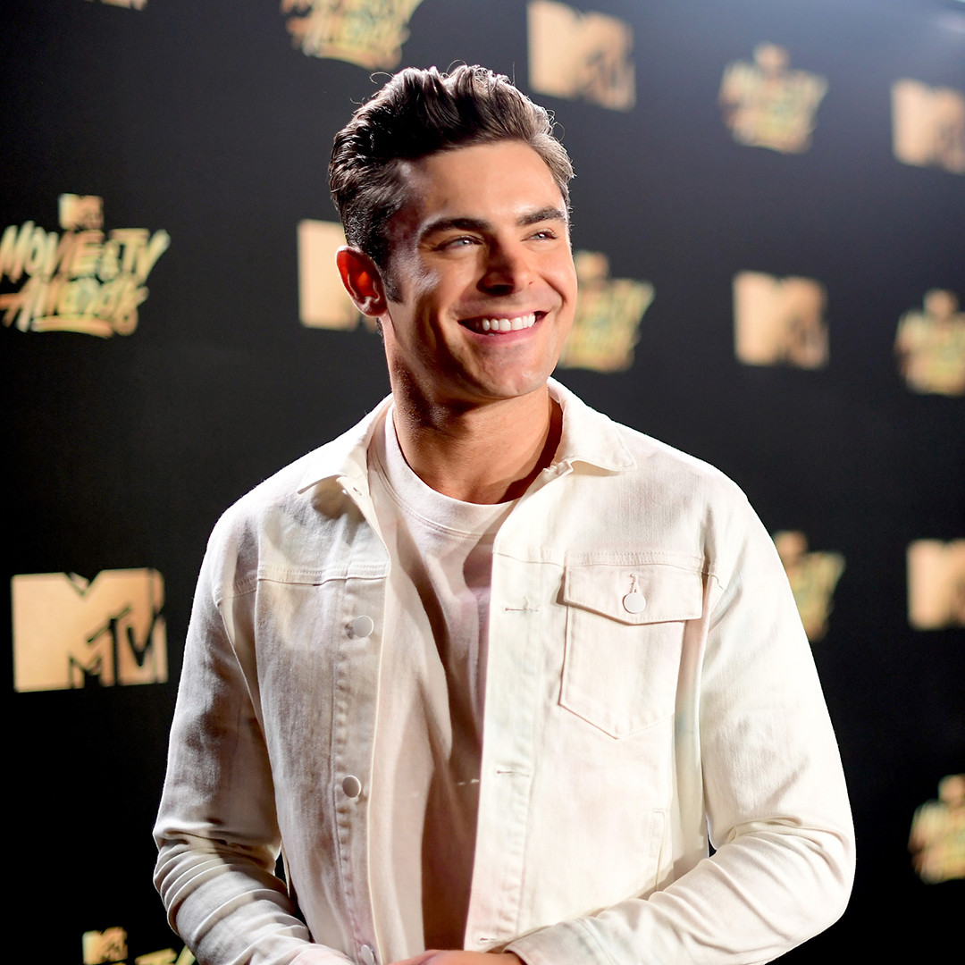 Zac Efron, 2017 MTV Movie and TV Awards, Instagram