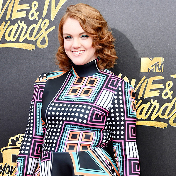 Shannon Purser, 2017 MTV Movie And TV Awards, Arrivals