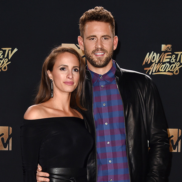 Vanessa Grimaldi, Nick Viall, 2017 MTV Movie And TV Awards
