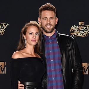 Vanessa Grimaldi, Nick Viall, 2017 MTV Movie And TV Awards