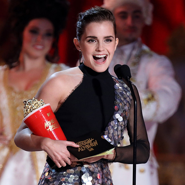 Emma Watson, 2017 MTV Movie And TV Awards