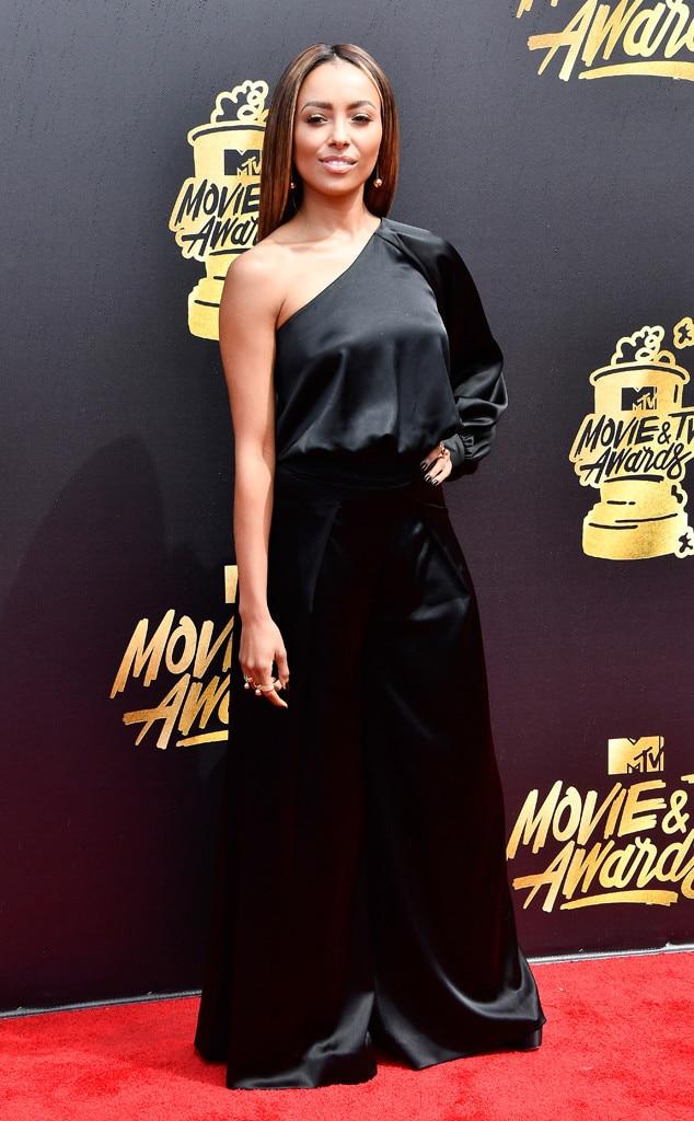 Kat Graham from MTV Movie & TV Awards 2017: Red Carpet ...