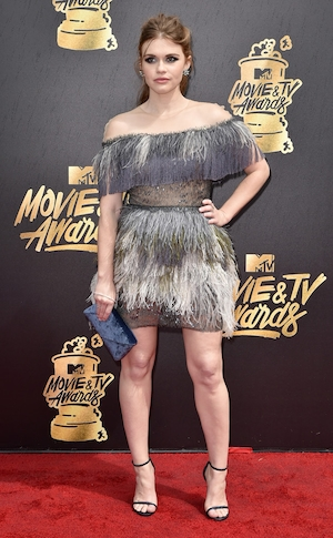 Holland Roden, 2017 MTV Movie And TV Awards, Arrivals