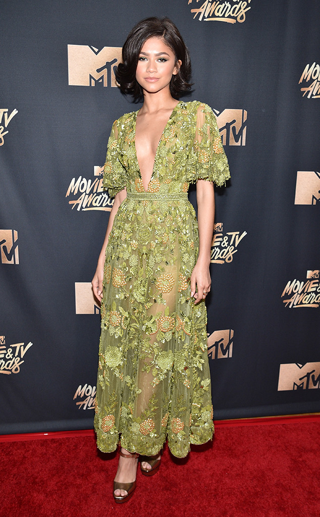 Zendaya, 2017 MTV Movie And TV Awards, Arrivals