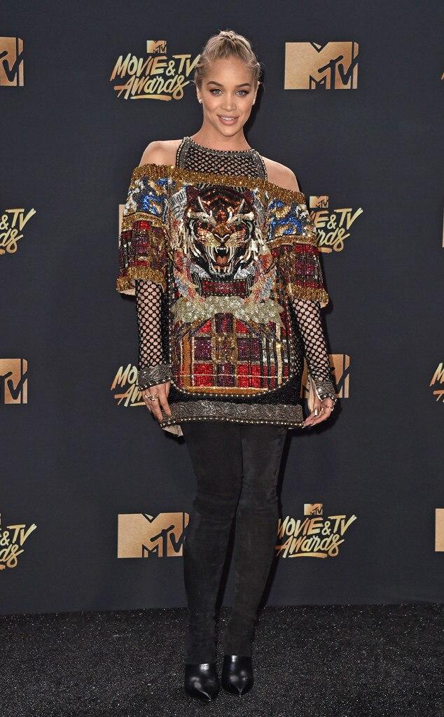 Jasmine Sanders, 2017 MTV Movie And TV Awards