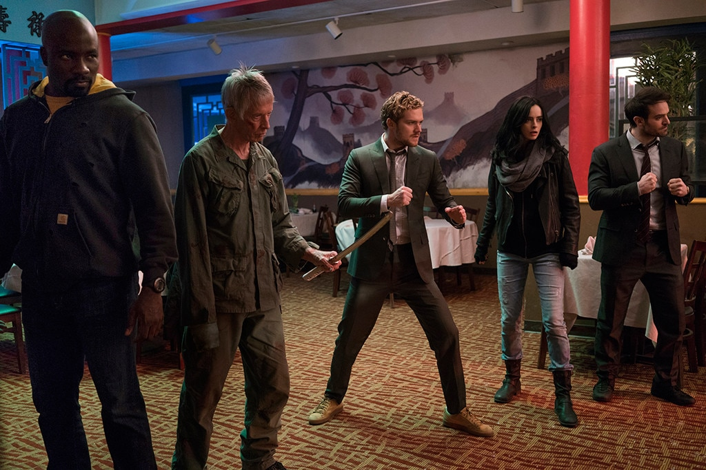 Superheroes unite in key art for Marvel's The Defenders
