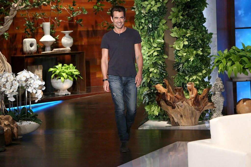 Colin Farrell, The Ellen DeGeneres Show