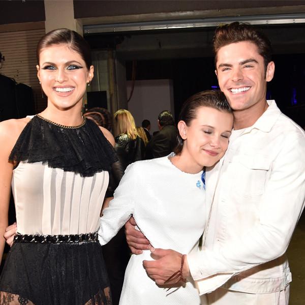 <i>Stranger Things</i> Kids Make New Famous Friends at the 2017 MTV Movie & TV Awards