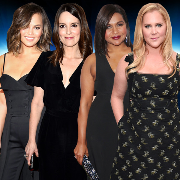 thinkThin, Funny Ladies, Chrissy Teigen, Tina Fey, Mindy Kaling, Amy Schumer