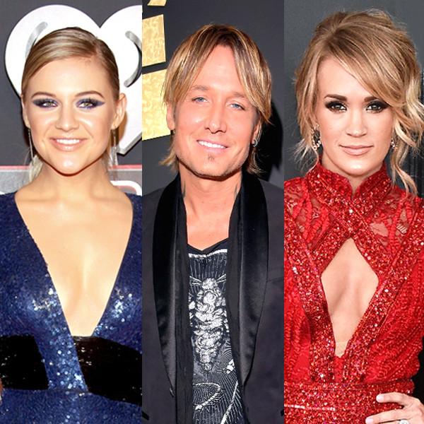 Kelsea Ballerini, Keith Urban, Carrie Underwood