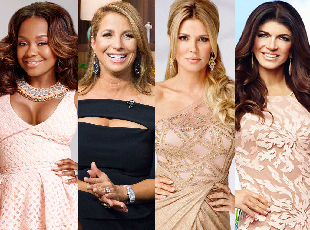 Real Housewives Falls from Grace, Phaedra Parks, Jill Zarin, Brandi Glanville, Teresa Giudice