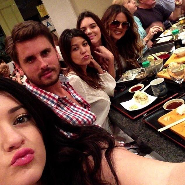 Scott Disick, Kylie Jenner, Kendall Jenner, Khloe Kardashian