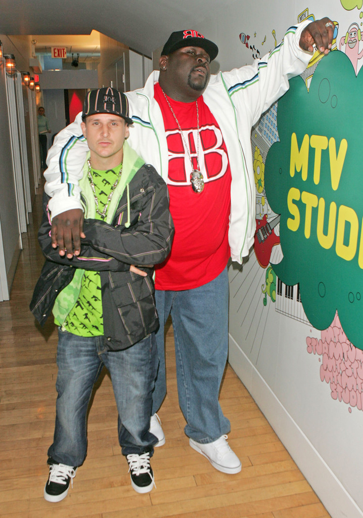 "Rob Dyrdek, Christopher ""Big Black"" Boykin"