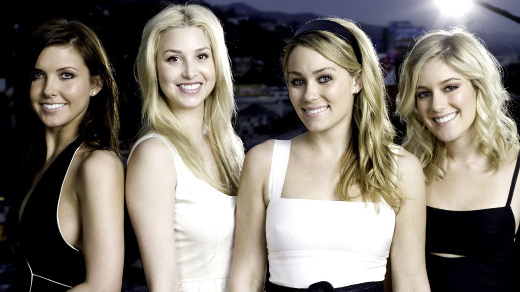 Whitney Port, Lauren Conrad, Audrina Patridge, Heidi Montag, The Hills