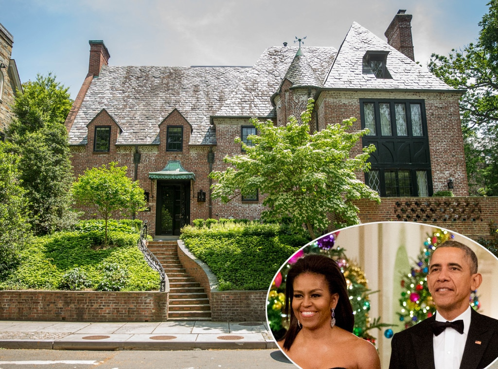 The obamas purchasing new 8 million home in dc for Buying a home in washington dc