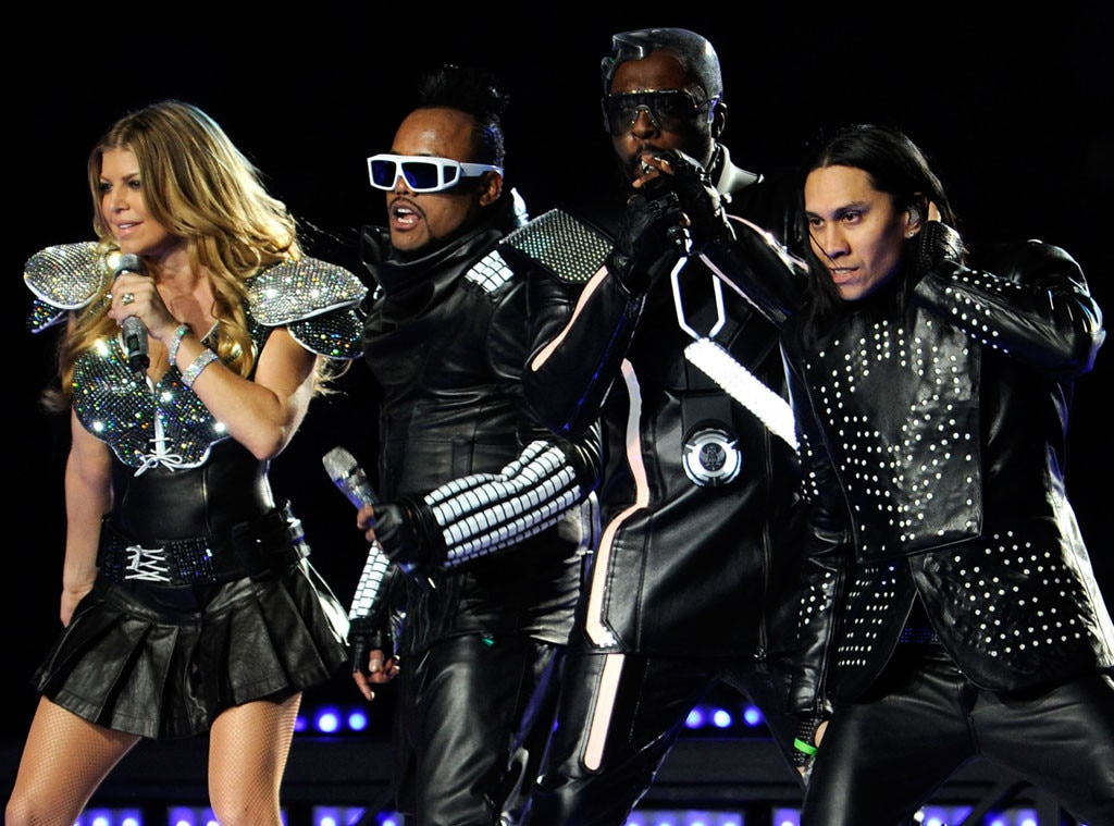 The Black Eyed Peas, Fergie, 2012