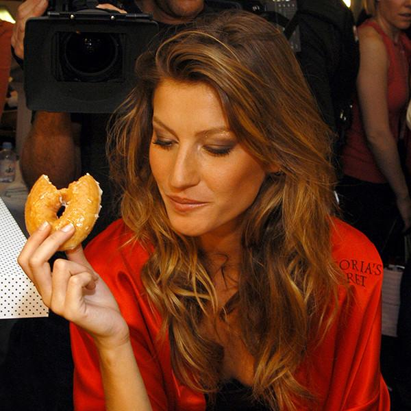 Gisele Bundchen, National Donut Day