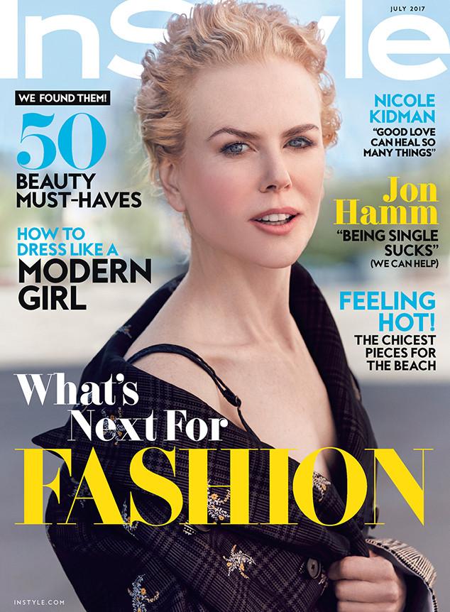 Nicole Kidman, InStyle, July 2017