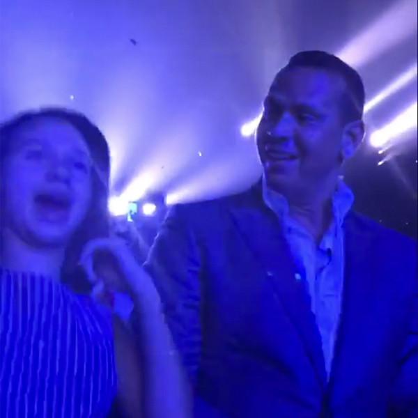 Alex Rodriguez, Daughter, Natasha, Jennifer Lopez, Show