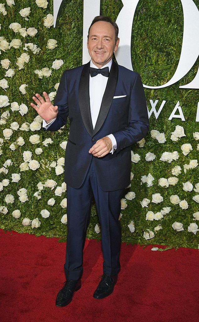 Kevin Spacey, 2017 Tony Awards, Arrivals