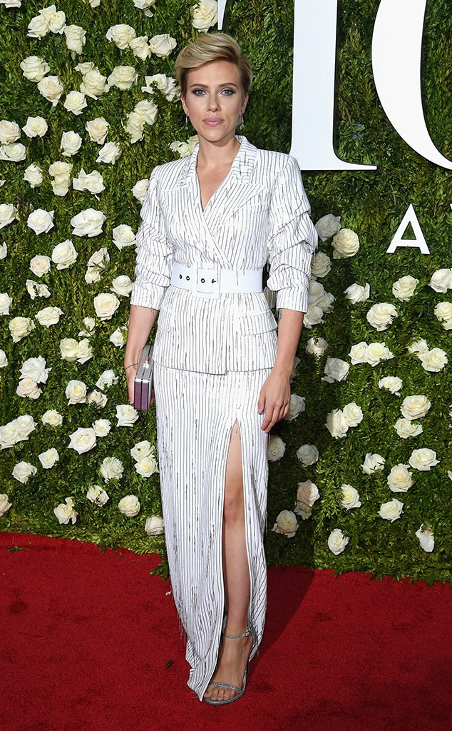 Scarlett Johansson, 2017 Tony Awards, Arrivals