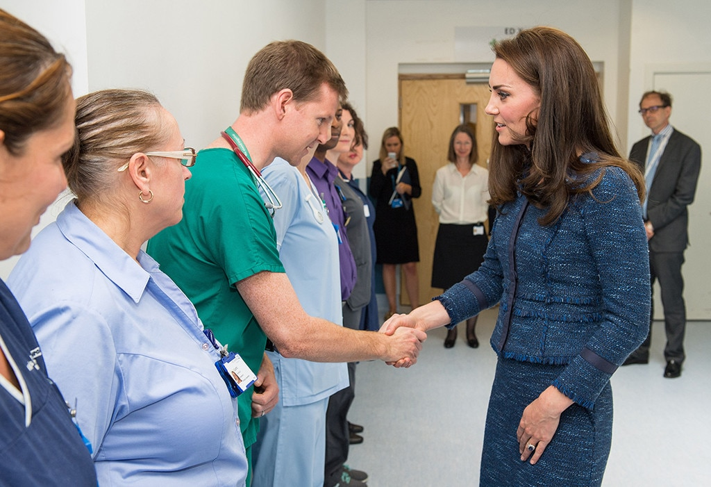 Duchess of Cambridge visits London Bridge attack victims