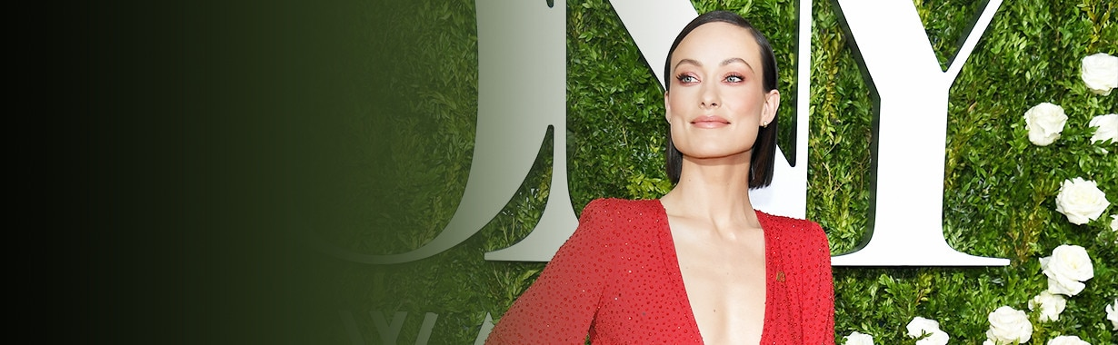 Olivia Wilde, Tony Awards Arrivals, Teaser