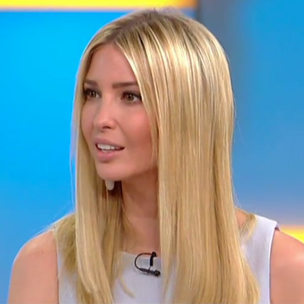 Ivanka Trump, Fox & Friends