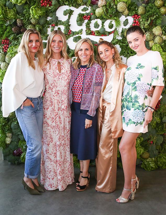 Cameron Diaz, Tory Burch, Gwyneth Paltrow, Nicole Richie, Miranda Kerr