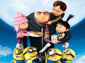 Gru, Despicable Me, Best Animated Dads