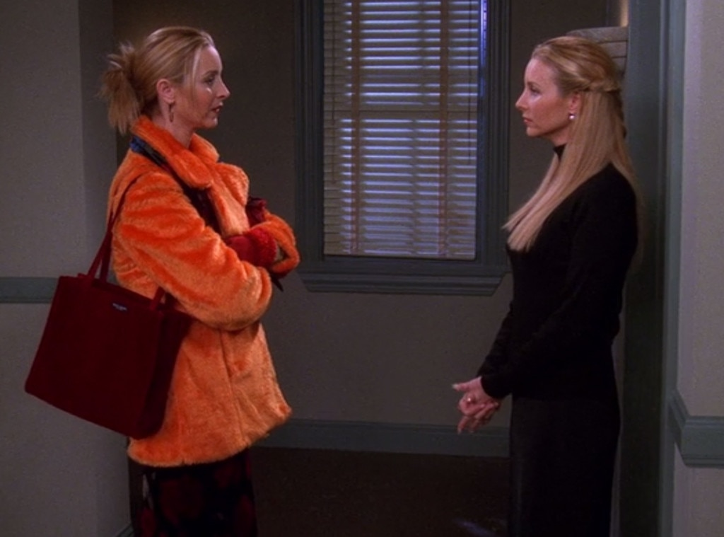Lisa Kudrow Friends From Stars Playing Onscreen Twins E