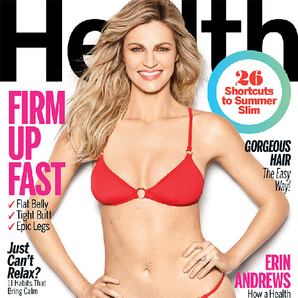 Erin Andrews, Health Magazine