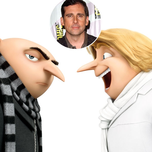 Steve Carrell, Despicable Me 3, Twins