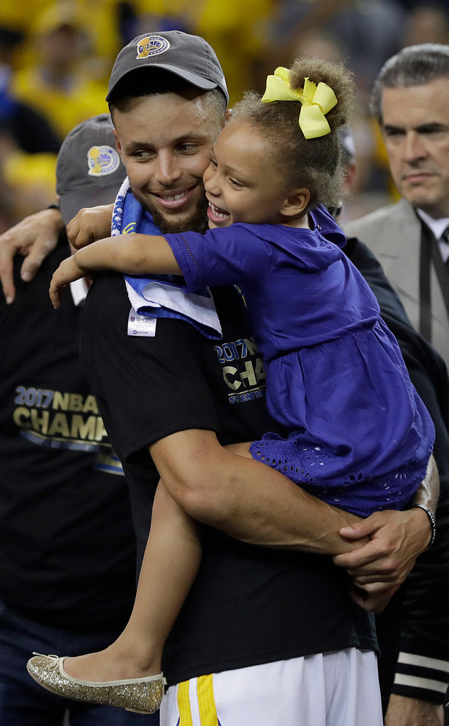riley curry celebrates 5th birthday with unicorn themed tea party
