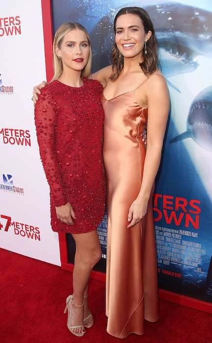 Claire Holt, Mandy Moore