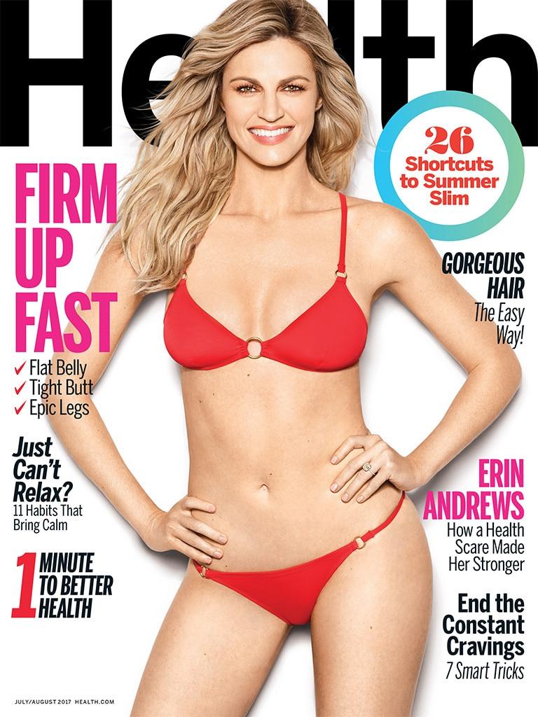 Erin Andrews, Health Magazine